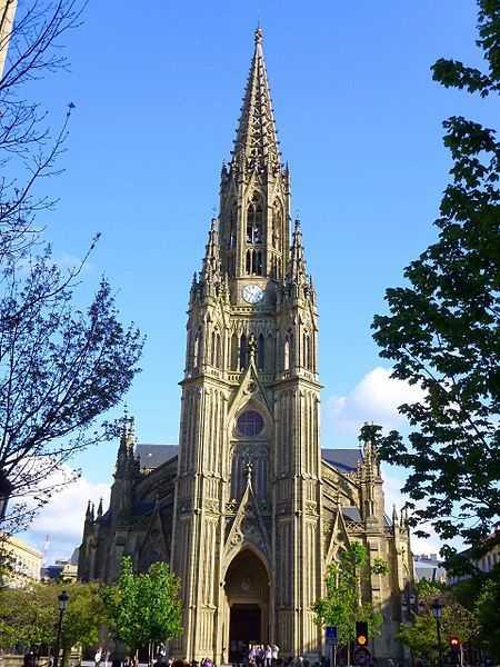 Catedral del Buen Pastor Que Ver en San Sebastián Fuente Wikipedia