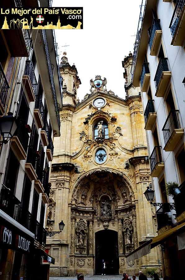 Iglesia-de-Santa-María-del-Coro-de-San-Sebastián-Que-Ver-en-San-Sebastián-por-Lo-Mejor-del-País-Vasco
