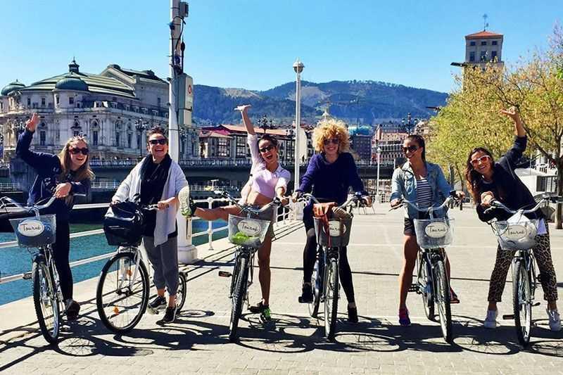 Reserva Tour en Bicicleta por Bilbao