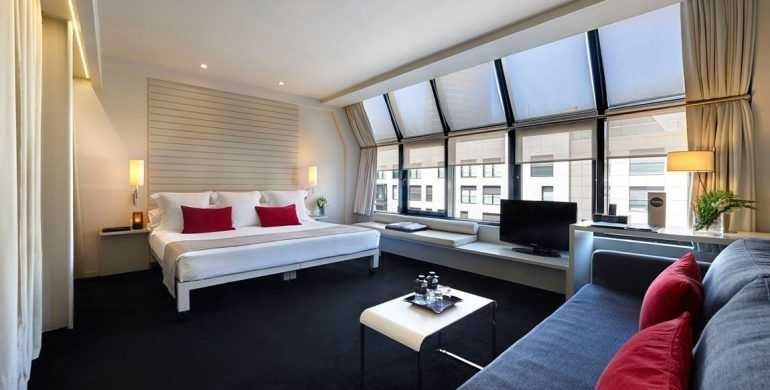 Habitación Junior Suite Hotel Miró Bilbao