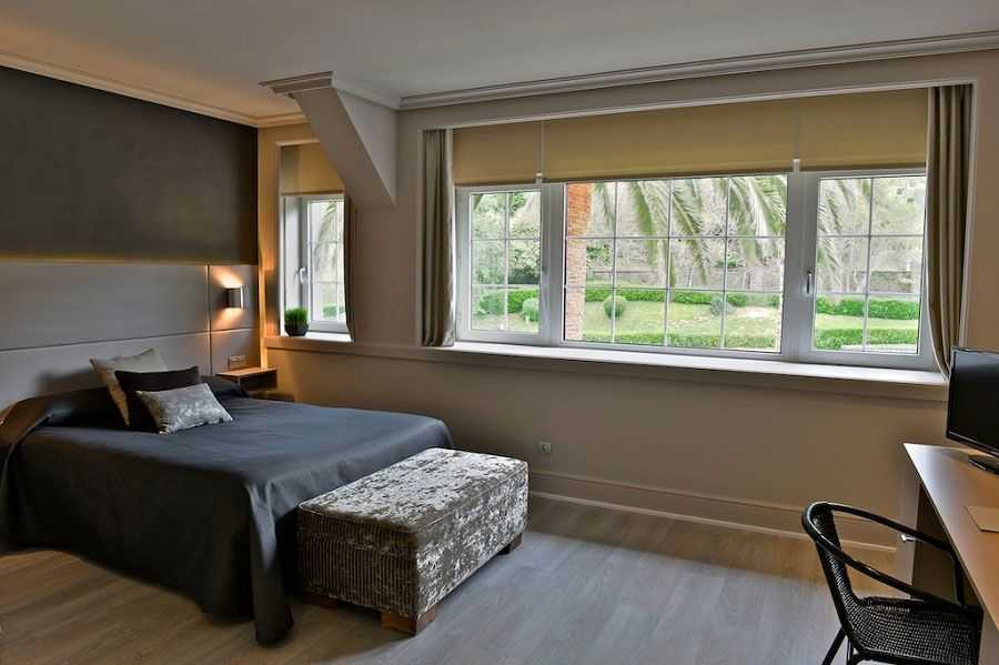 Habitacion-doble-con-vistas-al-jardin-Hotel-Igeretxe-LoMejordelPaisVasco