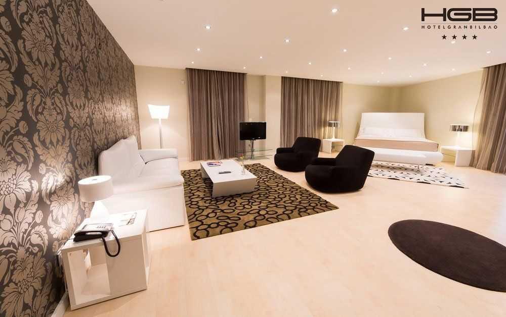Hotel Gran Bilbao Habitación Suite en Lo Mejor del Pais Vasco