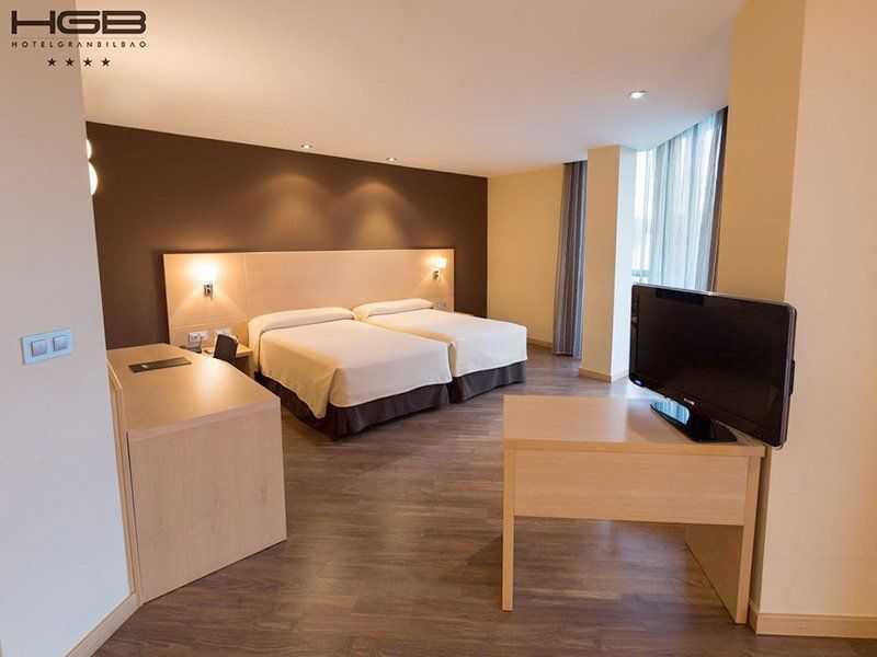 Hotel Gran Bilbao Habitación Superior en Lo Mejor del Pais Vasco