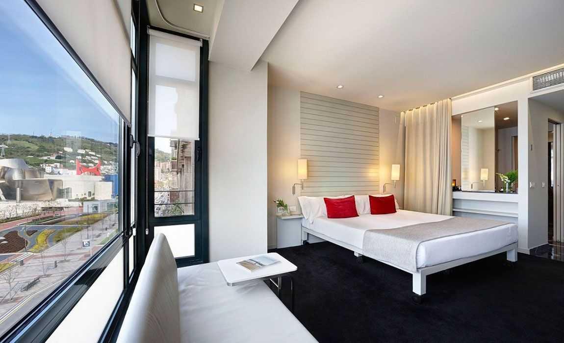 Vistas del Hotel Miró Bilbao desde la Habitación City Deluxe