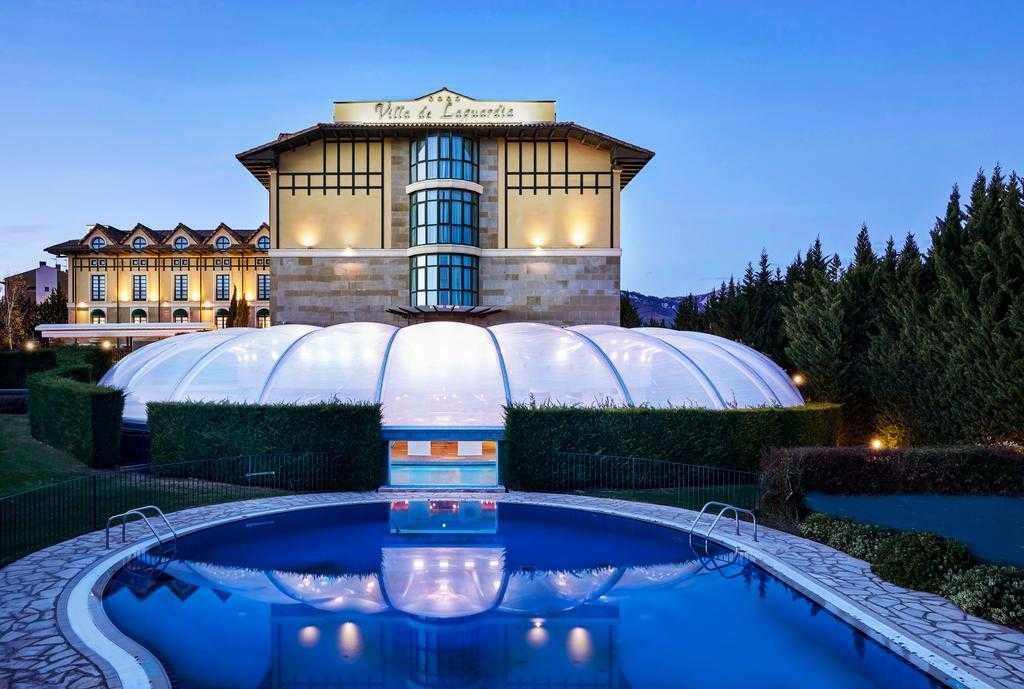 Hotel Sercotel Villa de Laguardia Dormir en Rioja Alavesa