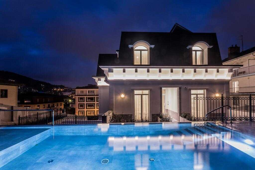 Villa Eugenia Boutique Hotel Dormir en San Sebastián